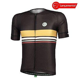 Camisa Ciclismo Horizon Preta Mauro Ribeiro (Lançamento 2021)