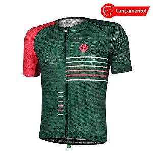 Camisa Ciclismo Energy Verde Mauro Ribeiro (Lançamento 2021)