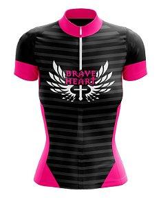 Camisa Ciclismo Coração Valente Scape
