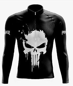 Camisa Ciclismo Manga Longa  Justiceiro Scape