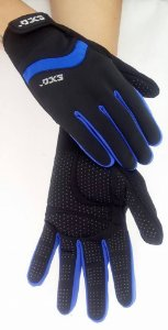 Luva Ciclismo Lancer Azul Pro Hand