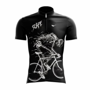Camisa Ciclismo Esqueleto Scape
