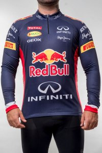 Camisa Ciclismo Manga Longa Red Bull Scape