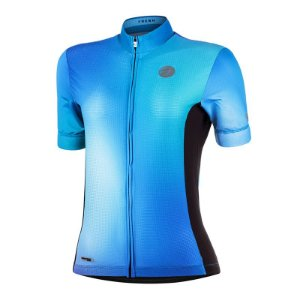 Camisa Ciclismo Fresh Azul Mauro Ribeiro
