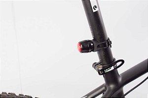 Pisca Traseiro Bike Tsw - Usb Recarregável