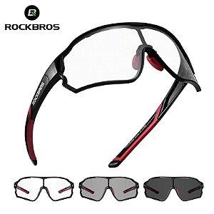 Óculos Ciclismo Fotocromático Rockbros
