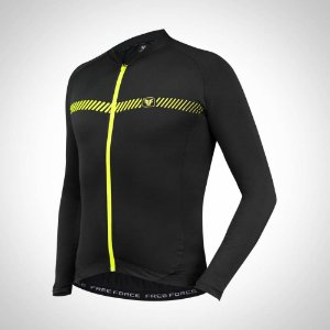 Camisa Ciclismo Training Security Free Force (levemente peluciado)