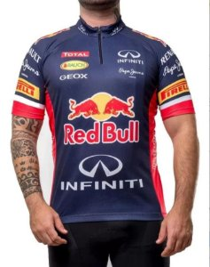 Camisa Ciclismo Red Bull Scape