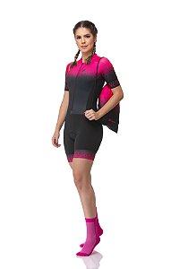 Macaquinho Ciclismo Pink Power Z-Nine