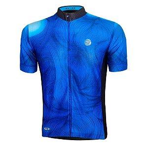 Camisa Ciclismo Guide Azul Mauro Ribeiro