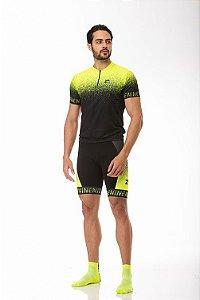 Camisa Ciclismo Ride Green Jet Z-Nine