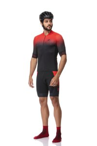 Camisa Ciclismo Sport Red Jet Z-Nine