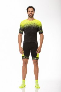 Camisa Ciclismo Elite Green Jet Z-Nine