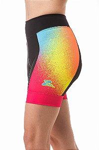 Bermuda Ciclismo Rainbow Feminina Z-Nine