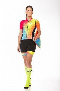 Macaquinho Ciclismo Rainbow Z-Nine