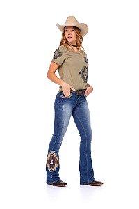 Camiseta Zenz Western Feminina Colorado River ZW0221003