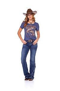 Camiseta Zenz Western Feminina Ghost Town ZW0221006