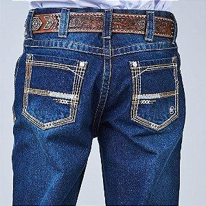 Calça Jeans Docks Masculina Pesponto Flat DKS2815