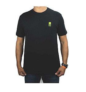 Camiseta Tuff Masculina Preta Silk Verde TS3983