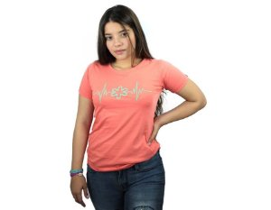 Camiseta Tuff Feminina Coral Silk Turquesa TS4161
