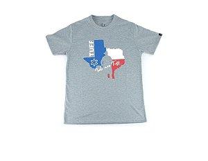 Camiseta Tuff Masculina Cinza Silk Texas TS3110