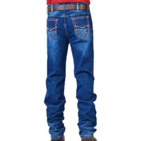 Calça Jeans Docks Masculina Red Bordada DKS2810