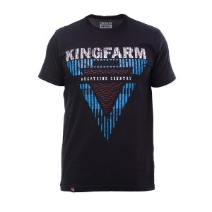 Camiseta King Farm Masculina Preto GCM155