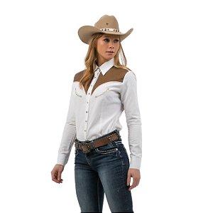 Camisa Zenz Western Feminina Margarita ZW0421011