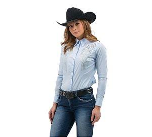 Camisa Zenz Western Feminina Milagros ZW0421013