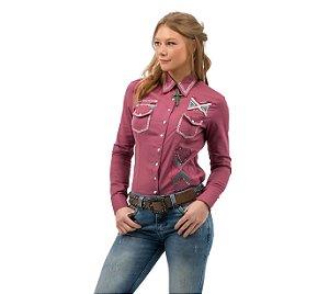 Camisa Zenz Western Feminina Ximena ZW0421015