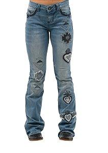 Calça Jeans Zenz Western Corazon ZW0421006
