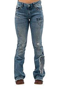 Calça Jeans Zenz Western Vaquera ZW0421007