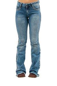 Calça Jeans Zenz Western Viva LA Vida ZW0421003