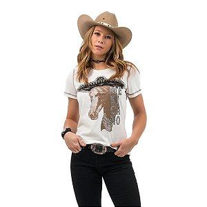 Camiseta Zenz Western Feminina Caballo ZW0421036
