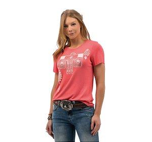 Camiseta Zenz Western Feminina Clarita ZW0421045