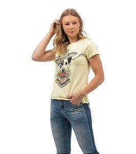 Camiseta Zenz Western Feminina Dixie In Mexico ZW0421037