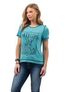 Camiseta Zenz Western Feminina Muchacha ZW0421042
