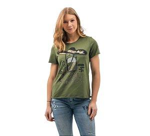 Camiseta Zenz Western Feminina Tequila ZW0421035
