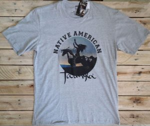 Camiseta Tatanka Masculina Mescla Marinho Native