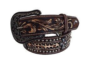 Cinto Masculino Arizona Belts Marrom Cruz