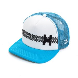 Boné Black Calf Snapback Azul Tela Branco - Vitrine do Cowboy - A ... 7c2cd21df46