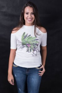T-Shirt Miss Country Cocar Arabesco 332