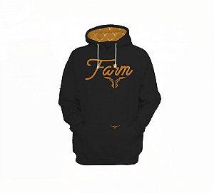 Moletom King Farm Preto KFM24