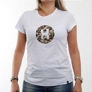 Camiseta TXC Feminina Baby Look Branca 4063