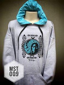 Moletom Tatanka Cinza Azul MST009