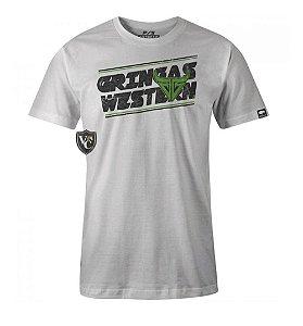 Camiseta Gringa'S Western Masculina Spun White