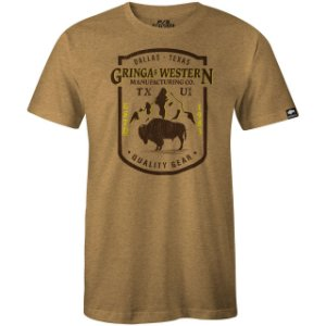 Camiseta Gringa'S Western Masculina Wild Texas