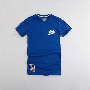 Camiseta Txc Brand Masculina Royal 1205
