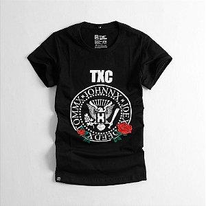 Camiseta TXC Feminina Baby Look Preta 4075