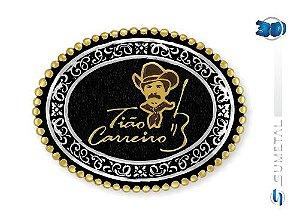 Fivela Tião Carreiro Sumetal 10587Fj